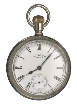 Pocket watch likely carried by Matthew Henson in 1908-1909 Arctic expedition