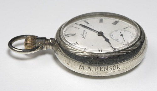 Image for Pocket watch likely carried by Matthew Henson in 1908-1909 Arctic expedition
