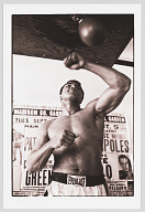 Image for Photographic print of Muhammad Ali training at the 5th Street Gym