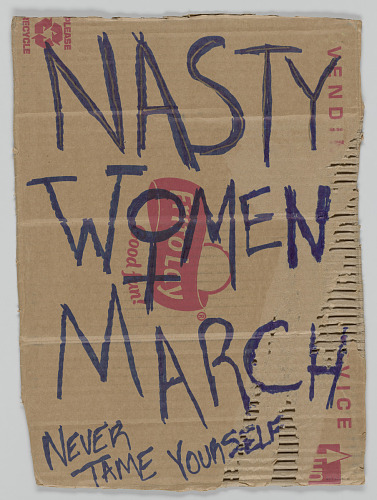 Image for Sign from Women's March on Washington with