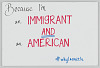 "Thumbnail for Sign from Women's March on Washington with ""...I'm an Immigrant and an American"