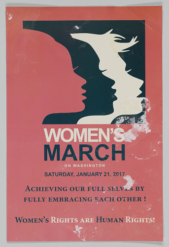 Image for Official poster for the 2017 Women's March on Washington