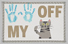 """Thumbnail for Poster from Women's March on Washington with """"hands off my pussy"""" graphic"""