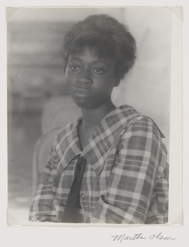 Image for Portrait of a student at Marion County High
