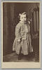 Thumbnail for Carte-de-visite of Hubert Gideon Welles in outfit sewn by Elizabeth Keckley
