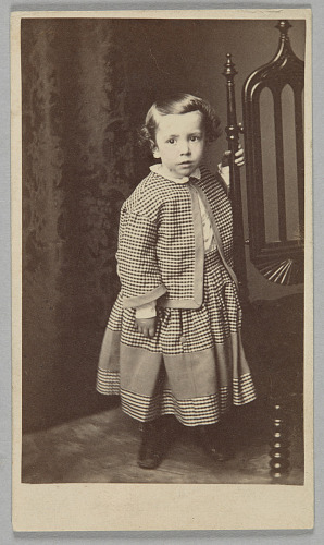 Image for Carte-de-visite of Hubert Gideon Welles in outfit sewn by Elizabeth Keckley