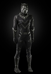 Costume for Black Panther worn by Chadwick Boseman