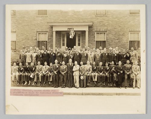 Image for Photograph of Kappa Alpha Psi members
