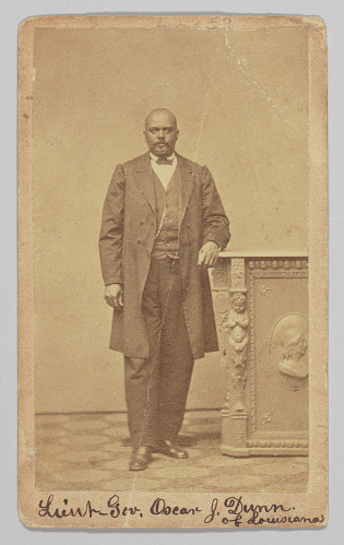 Image for Carte-de-visite of Lt. Governor Oscar J. Dunn