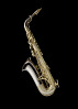 Thumbnail for Alto saxophone owned and played by Charlie Parker