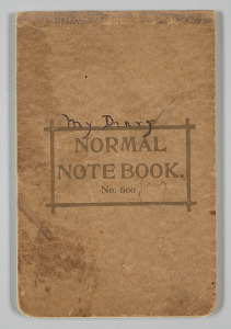 Image for Diary written by Jessie Greer