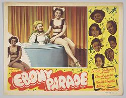 Lobby card for the film Ebony Parade