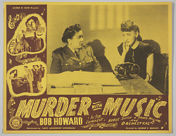 Lobby card for the film Murder with Music
