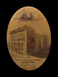 Button from The Frederick Douglass Memorial Hospital and Training School