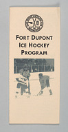 Brochure for the Fort Dupont Hockey Club