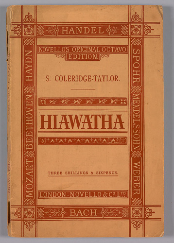 Image for The Song of Hiawatha Op.30