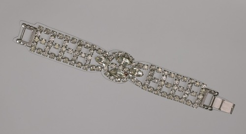 Image for Rhinestone bracelet from Mae's Millinery Shop