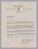 Thumbnail for Letter from Carl Fischer Inc. to Hall Johnson regarding Johnson's contract