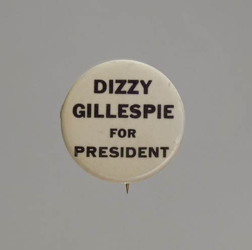 Image for Pinback button for Dizzy Gillespie