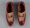 Thumbnail for Red and cream loafers designed by Pierre Cardin and worn by Fats Domino