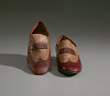 thumbnail for Image 8 - Red and cream loafers designed by Pierre Cardin and worn by Fats Domino