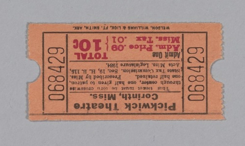 Image for Ticket for the Pickwick Theatre
