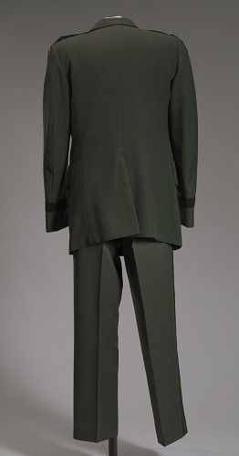 Image for US Army green service uniform worn by Colin L. Powell