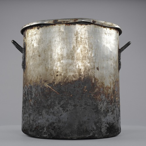 Image for Stockpot used to cook collard greens at the Florida Avenue Grill