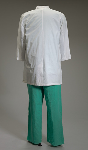 Image for White lab coat worn by Dr. Ben Carson
