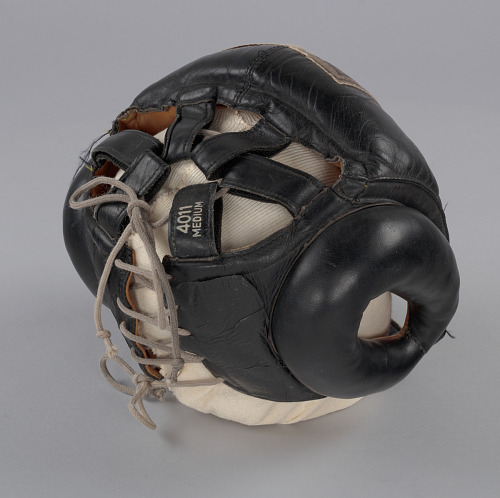 Image for Boxing headgear worn by Muhammad Ali