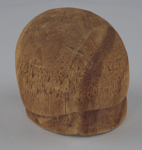 Image for Wooden hat block from Mae's Millinery Shop