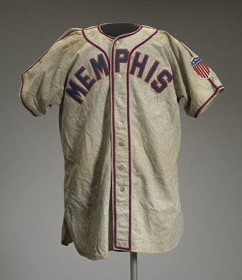 Baseball jersey worn by Neil Robinson for the Memphis Red Sox