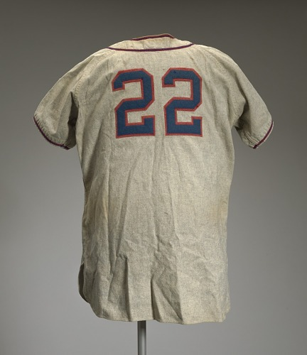 Image for Baseball jersey worn by Neil Robinson for the Memphis Red Sox