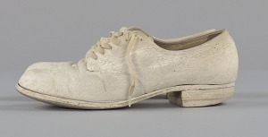 images for Pair of nurse's shoes worn by Pauline Brown Payne-thumbnail 3