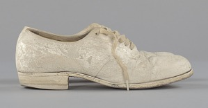 images for Pair of nurse's shoes worn by Pauline Brown Payne-thumbnail 5