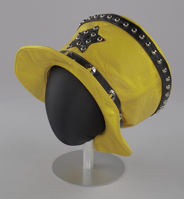 Image 1 for Yellow and black hat worn by Bootsy Collins