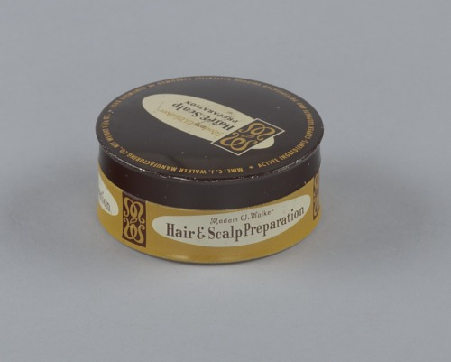 Image for Tin for Madame C.J. Walker's Hair and Scalp Preparation