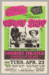 Theater poster for Beauty Shop