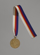 Image for 1988 Olympic Gold Medal for Men's Long Jump awarded to Carl Lewis