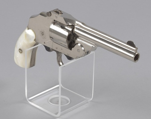 Image for US Army service revolver owned by Richard T. Jones