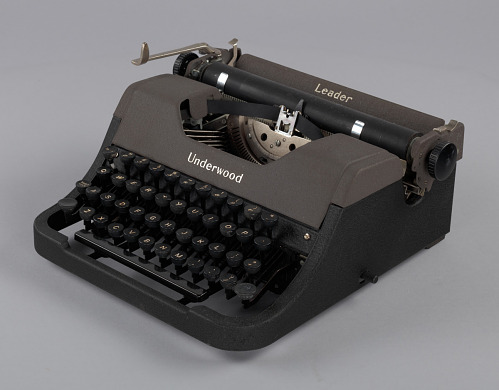 Image for Underwood typewriter and case