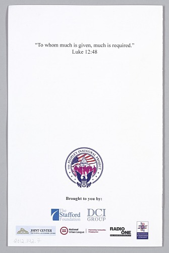 Image for The People's Inauguration Project program