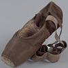 Thumbnail for Toe shoe and tights worn by Ingrid Silva of Dance Theatre of Harlem