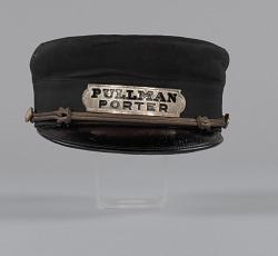 Uniform cap owned by Pullman Porter Robert Thomas