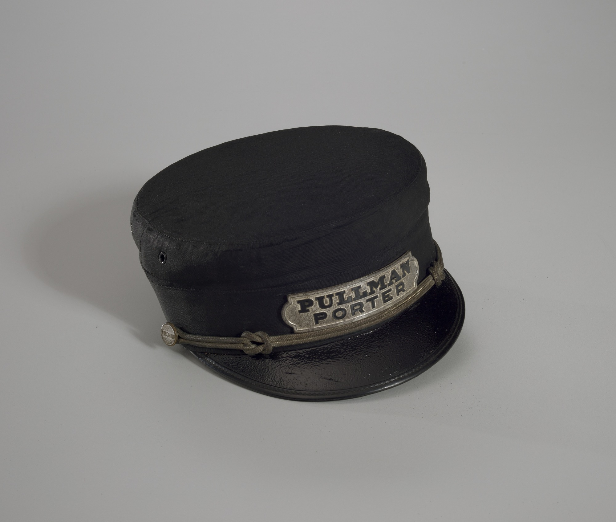 Image for Uniform cap owned by Pullman Porter Robert Thomas