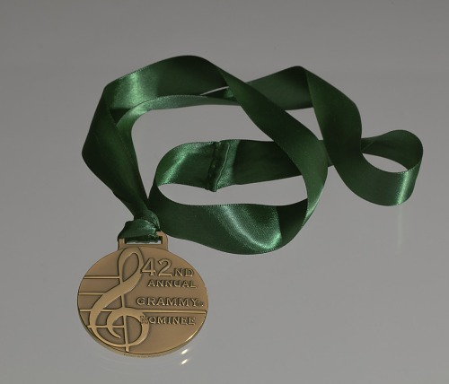 Image for Grammy nominee medal for the 42nd Annual Grammy Awards given to Ira Tucker