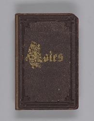 Slate notebook used by Bishop Benjamin Tanner