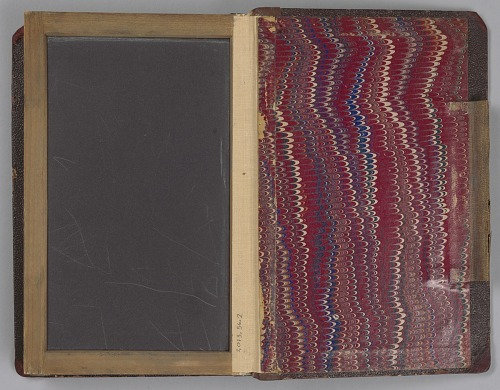 Image for Slate notebook used by Bishop Benjamin Tanner