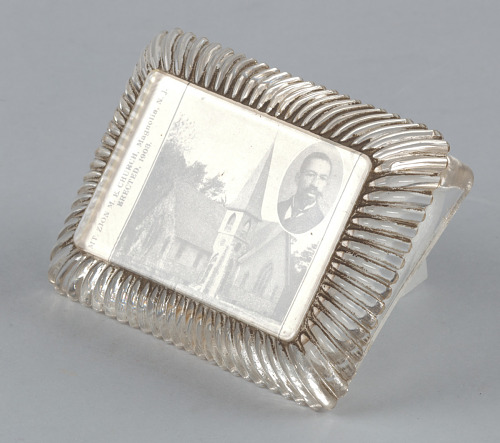 Image for Glass paperweight featuring Mt. Zion M.E. Church