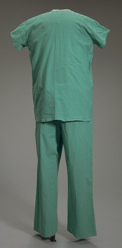 Image for Green medical scrubs worn by Dr. Ben Carson